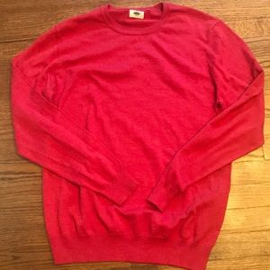 Old navy Red crewneck sweater